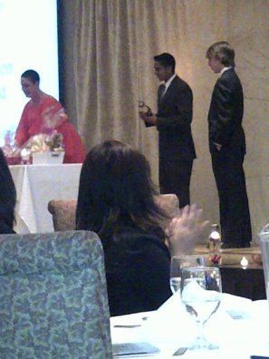 Joel Persaud - 2012 Bright Star Award Recipient