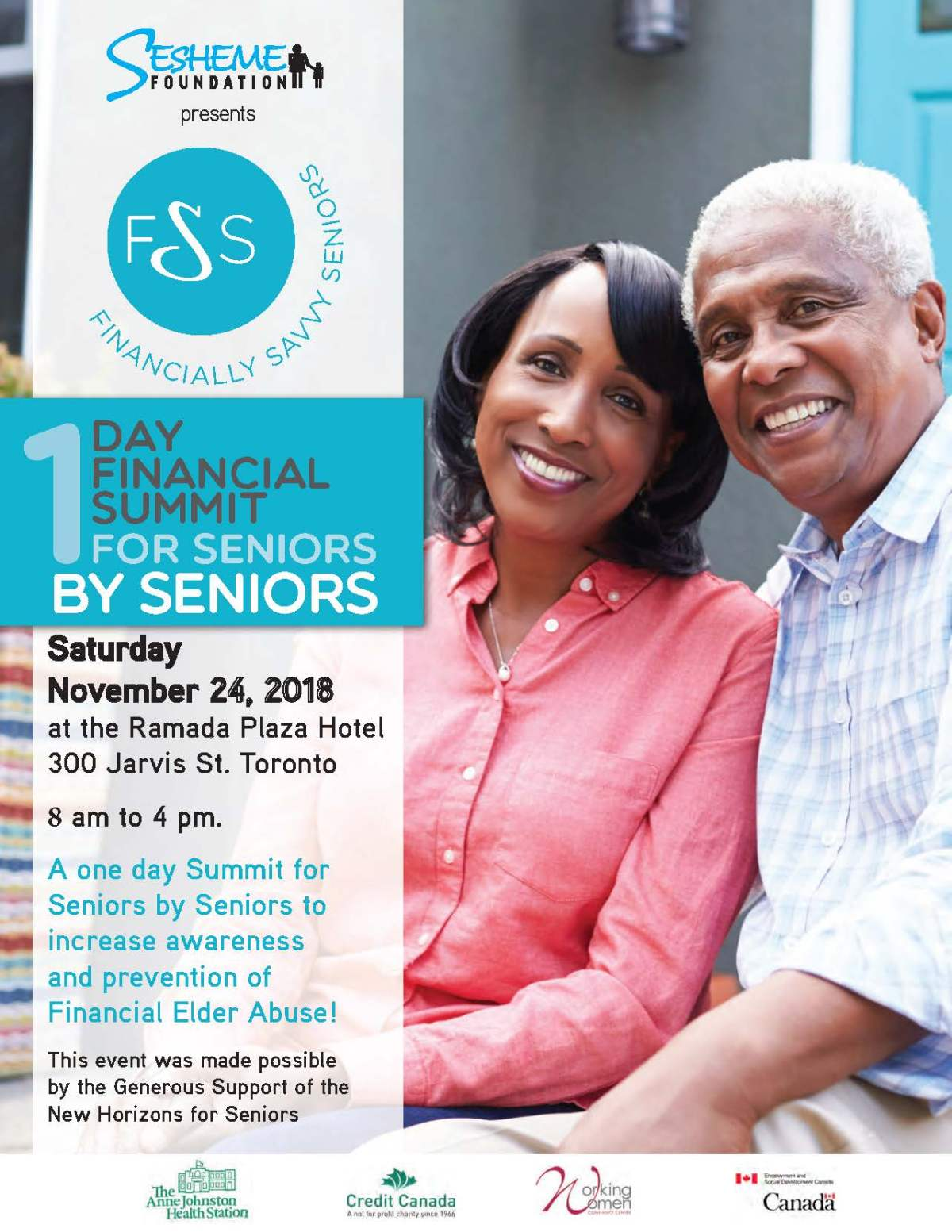 Registration is Open – Financially Savvy Seniors Summit